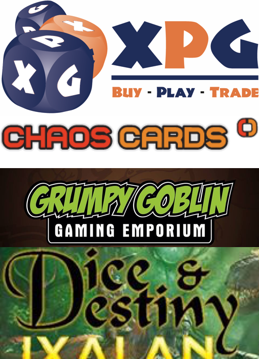 An image of competing logos from other local gaming stores.